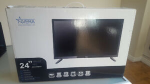 "AVERA 24"" FHD SUPER SLIM TV $90.00 OBO"