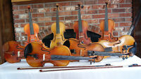 Quality Hand Made Violins, Fiddles and Bows for Sale