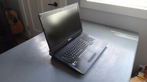 """Asus ROG 880m 17"""" laptop w/ upgraded ram and harddrive"""