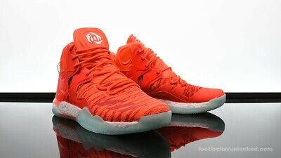 ADIDAS D ROSE 7 Low Full Boost Solar Red SIZE 16 Basketball