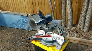 """Bosch 12"""" sliding compound miter saw"""