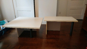Ensemble de 2 tables à vendre