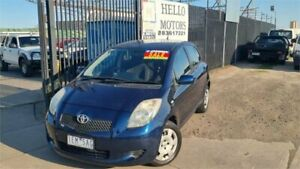 2006 Toyota Yaris NCP91R YRS 4 Speed Automatic Hatchback Ravenhall Melton Area Preview