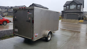 6 x12 Enclosed cargo trailer - Excellent condition - Great price