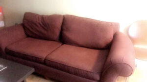 Quick sale  - Couches and table!