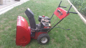8 HP/ 24, YARD MACHINE,  IN GOOD CONDITIONS
