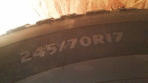 winter tires for sale Strathcona County Edmonton Area image 3