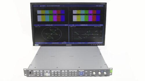 Harris Videotek VTM-4150 PKG Waveform Vector Monitor Opt 50 SD HD VTM-ASI-F