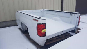 Truck Boxes, Tailgates, Bumpers, and Accessories at Auction