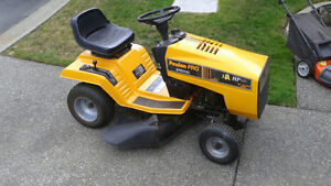 $375 · Poulan Pro Special ride-on mower