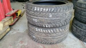 Pair of 2 Sailun Atrezzo Z4 AS 245/40R17 tires (70% tread life)