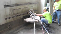 Egress window cutting and concrete services