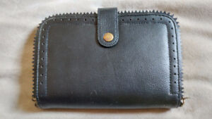 Black Leather small purse/Wallet
