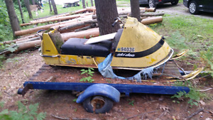 Antique 68 skidoos