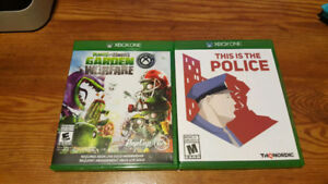 Plants Vs. Zombies This is the police Xbox One Games