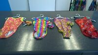 Child xs gymnastics bodysuits- metallics- NEGC
