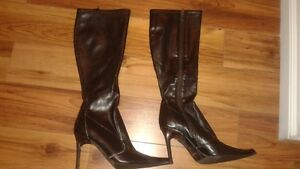 Chocolate Brown Boots (barely worn)