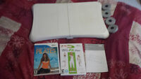 Wii fit plus, balance board & Daisy Fuentes Pilates Wii Game