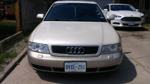 2001 Audi A4 with S4 swap