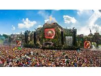 TOMORROWLAND FESTIVAL BELGIUM 2017 tickets Dreamville full madness pass Magnificent greens