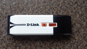 D-Link Wireless N600 Dual Band USB Adapter  (DWA-160)