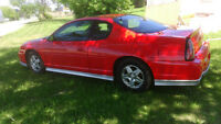 2001 CHEV SS MONTE CARLO-interstate battery--all new brakes new