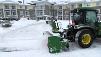 TRACTOR with SNOW BLOWER OPERATORS REQUIRED NOV. - APR.