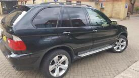 BMW X5 3.0i auto 2005 Sport 1 year MOT fully loaded SatNav TV DVD