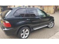 BMW X5 3.0i auto 2005 Sport 1 year MOT fully loaded SatNav TV DVD