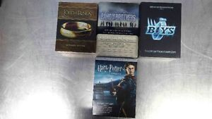 2 COFFRETS DVD, HARRY POTTER & BAND OF BROTHERS
