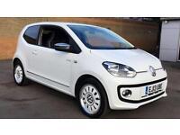 2013 Volkswagen Up 1.0 Up White 3dr Manual Petrol Hatchback