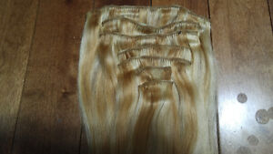 """Remy human hair 30"""" clip in extensions Kitchener / Waterloo Kitchener Area image 2"""