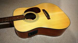Cort  Earth 50 Acoustic Electric Guitar - $245