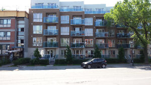 3 1/2 condo for rent in  a new building