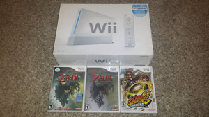 Selling a Boxed Wii + Games and Extras!