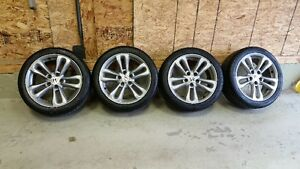 """Set of 4 17"""" Honda wheels with tires"""