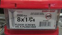 Vis a plancher /floor screws