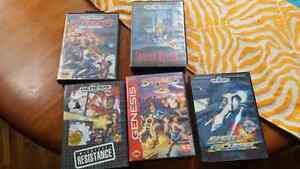 Collector looking for sega genesis games complete in box