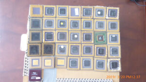 36 Computer CPU's for gold recovery, in Penticton