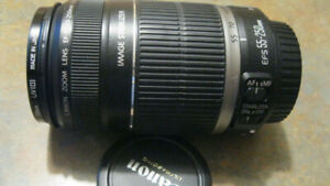 Canon EF-S 55-250mm f/4.0-5.6 IS Zoom Lens with Hoya filter !