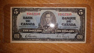 I PAY CASH FOR PRE 1989 OLD CANADIAN PAPER MONEY LET ME KNOW....