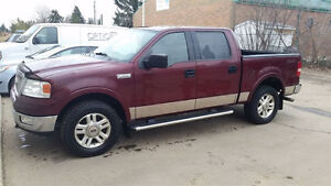 2004 Ford F-150 SuperCrew Lariat Pickup Truck Leather Interior