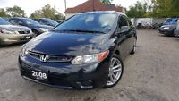2008 Honda Civic SI Coupe (2 door)-6 SPEED! LOW KM! RARE FIND!