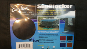 RV Carefree 82158802 Black 6' x 15' Sunblocker