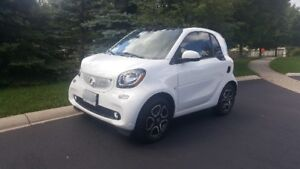 2016 Smart Fortwo Prime Coupe (2 door) New Design Lease Takeover