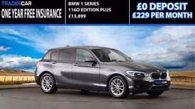 BMW 116 1.5TD Sports Hatch 2015.5 d Eff Dyn Plus - FREE INSURANCE!!!