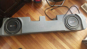 "2- 10"" MB Quartz subs in box"