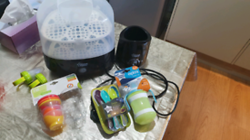 Tommee Tippee Electric Steriliser and warmer etc