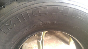 Michelin 16' tires ,