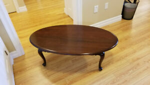 Solid Mahogany Coffee Table By Gibbard